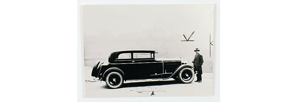 Nr. 164 - Fotopostkarte 'Martini Six Coupe' 1929