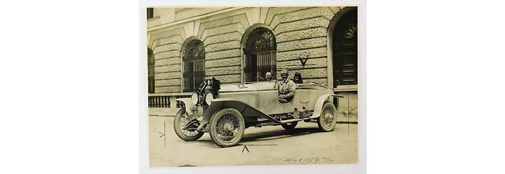 Nr. 51 - 1924 Hans von Veyder-Malberg auf Austro Daimler ADM