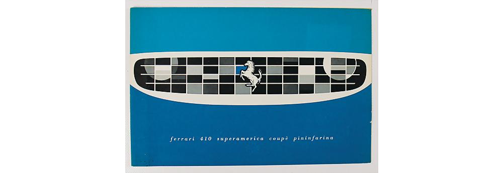 Nr. 65 - Verkaufsprospekt Ferrari 410