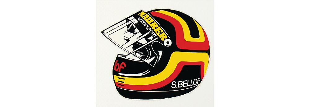 Nr. 89 - Helmaufkleber Stefan Bellof