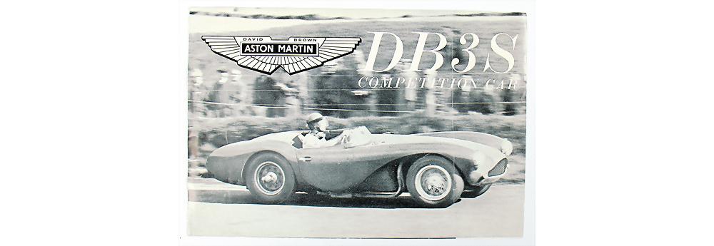 Nr. 1 - Orignal Faltprospekt Aston Martin DB3S