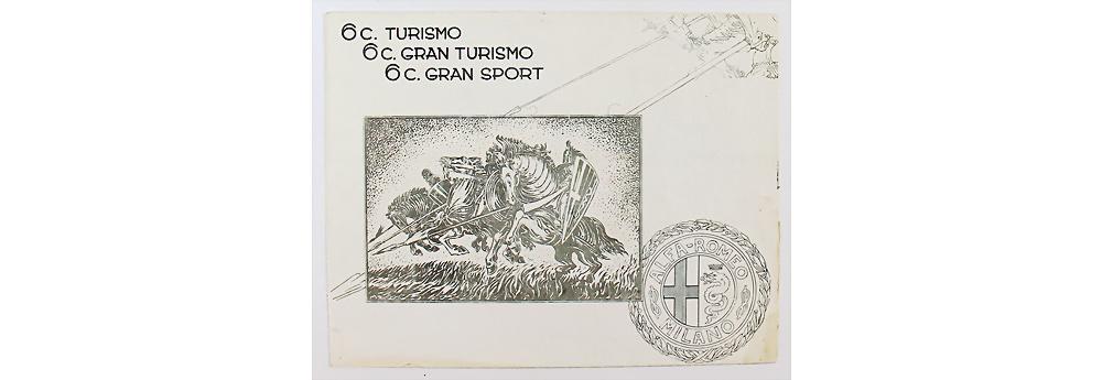 Nr. 1712 - Alfa Romeo, 1930, Faltprospekt '6C Turismo 6C Gran Turismo 6C Gran Sport'