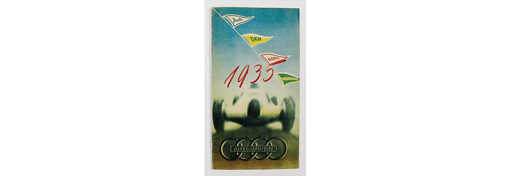 Nr. 30 - Auto Union, 1935, Verkaufsprospekt Modellprogramm