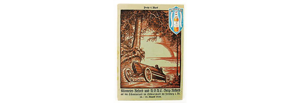 Nr. 40 - Programmheft Kilometer Rekord, Schauinsland 1925