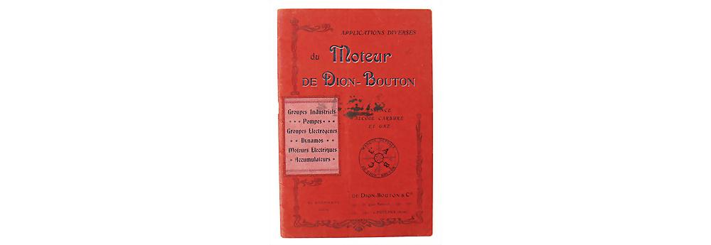 Nr. 47 - De Dion Bouton , 1904, Verkaufskatalog Industriemotoren