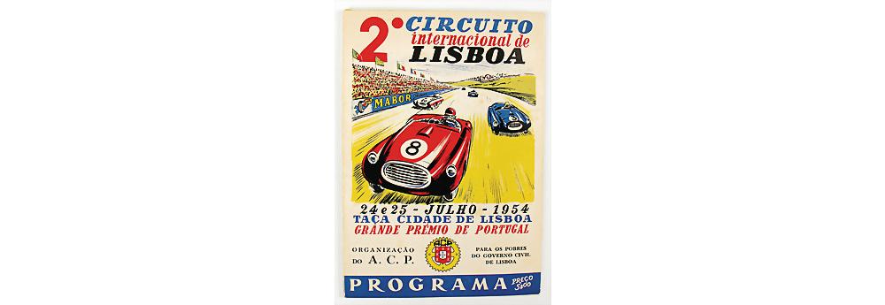 Nr. 51 - Rennprogramm '2. Circuito internacional Lisboa' 1954