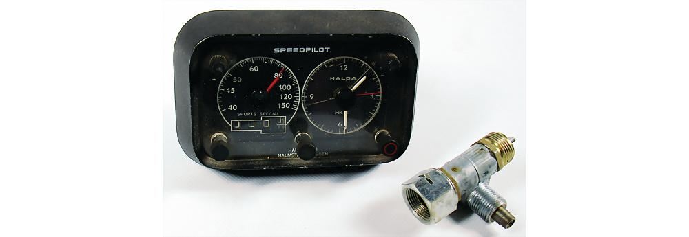 Nr. 6022 - Speedpilot Rallye Computer mit 2 Adaptern