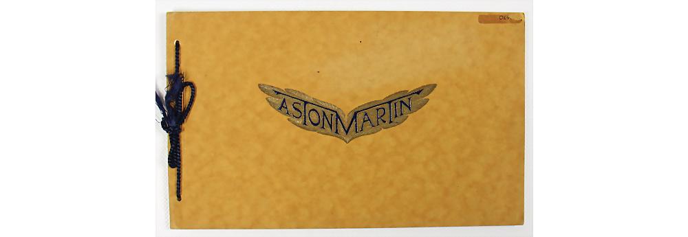 Nr. 9 - Aston Martin, 1930, Verkaufskatalog Aston Martin